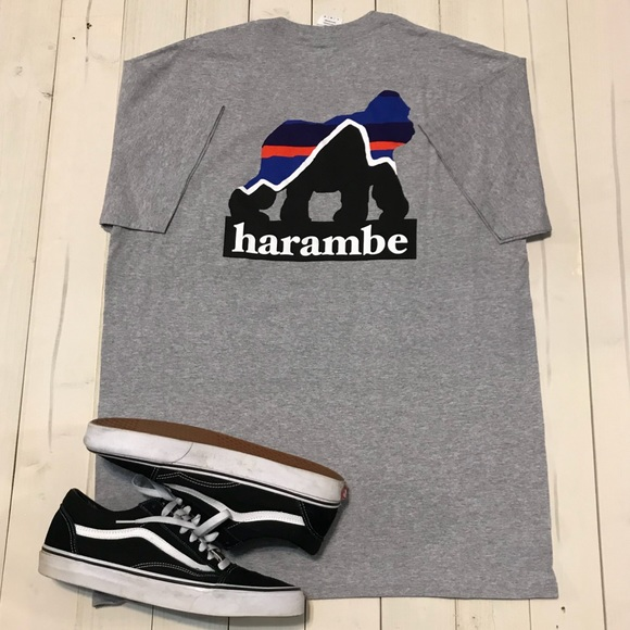 4f428057ce66d Patagonia Style Harambe Shirt